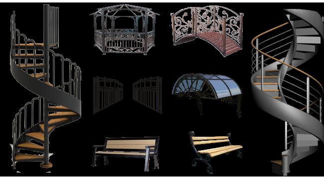 Собственное производство различных изделий из металла
