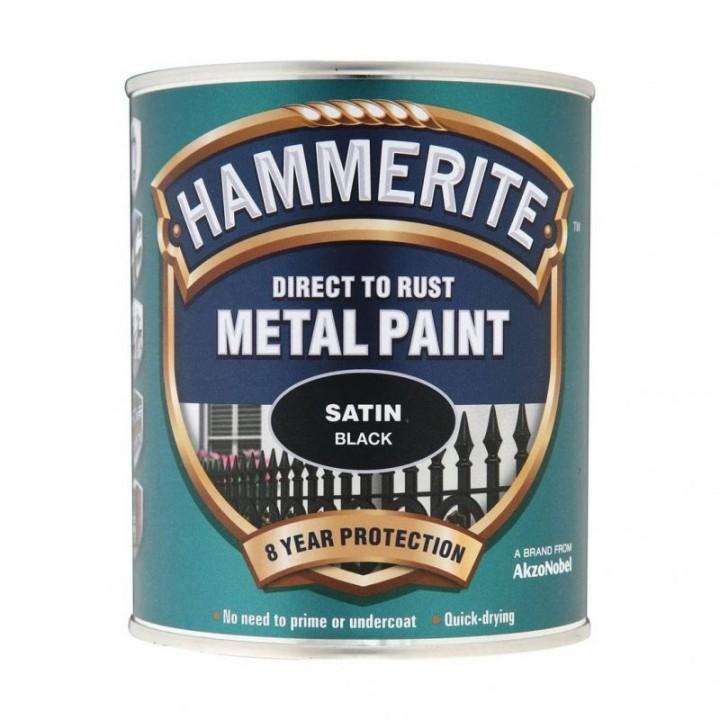 HAMMERITE SATIN (0,75л) черная