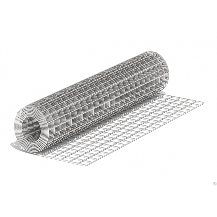 Сетка ЦПВС 40/0,7мм*оцин.рулон 1х8 м